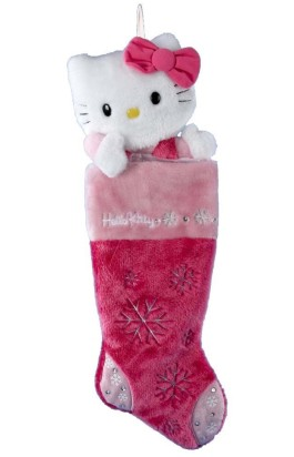 Hello Kitty Christmas Stocking