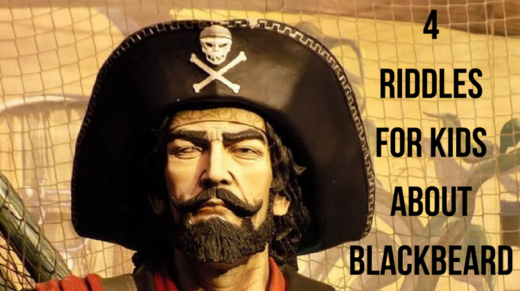 4 Blackbeard Riddles For Kids