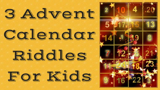 3 Advent Calendar Riddles For Kids