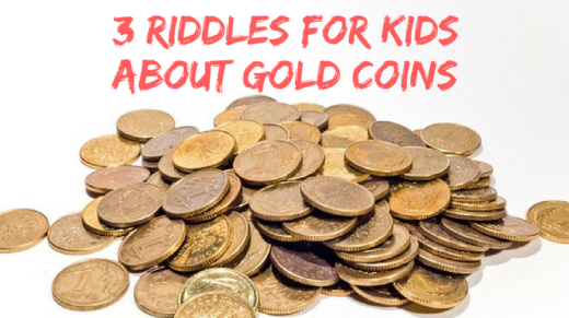 3 Gold Coins Riddles For Kids