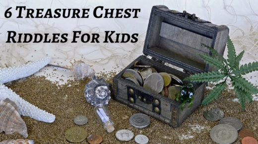 6 Treasure Chest Riddles For Kids