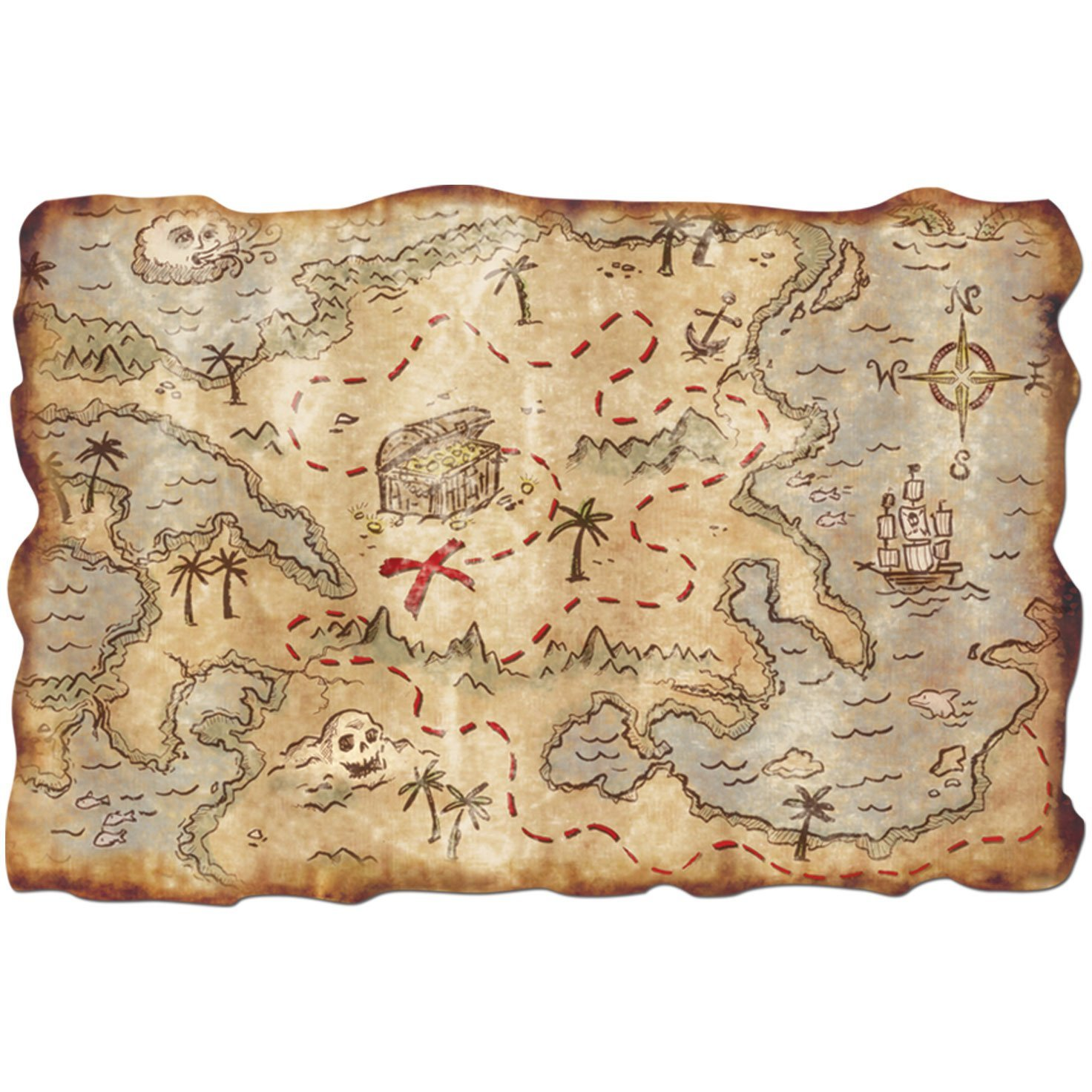 Treasure Map Riddles