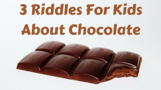 3 Chocolate Riddles For Kids