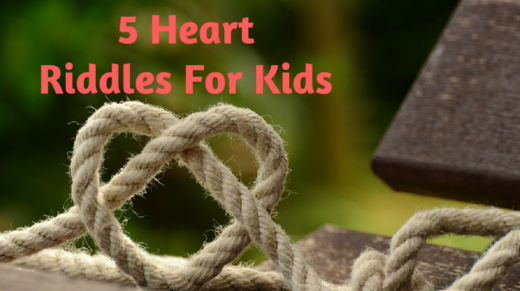5 Heart Riddles For Kids