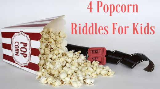 4 Popcorn Riddles For Kids