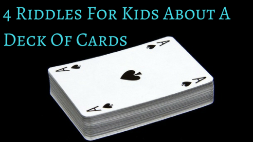 4 Deck Of Cards Riddles For Kids