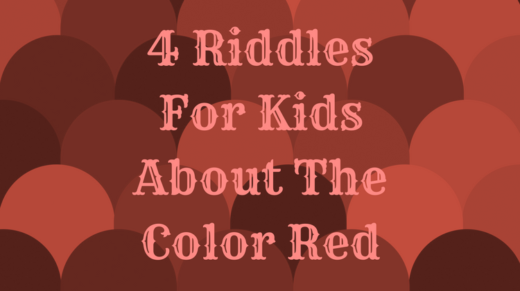 4 Red Riddles For Kids