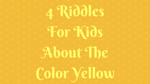 4 Yellow Riddles For Kids