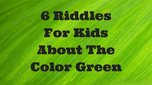 6 Green Riddles For Kids