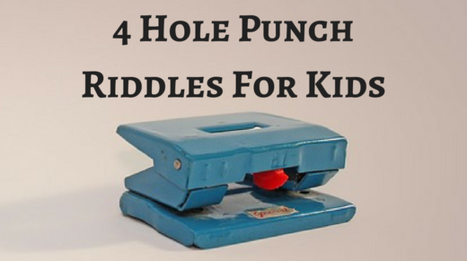4 Hole Punch Riddles For Kids