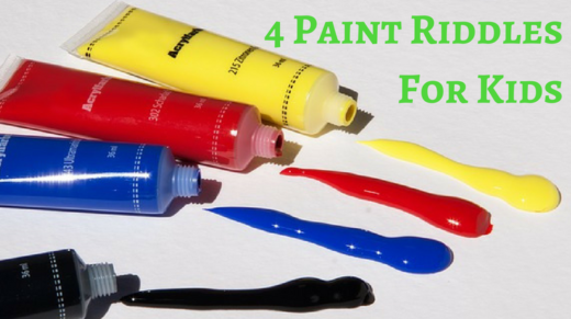 4 Paint Riddles For Kids