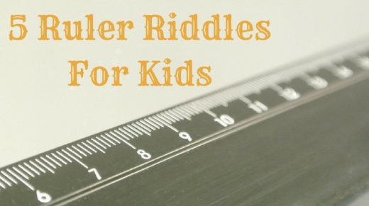 5 Ruler Riddles For Kids