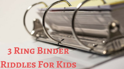 3 Ring Binder Riddles For Kids