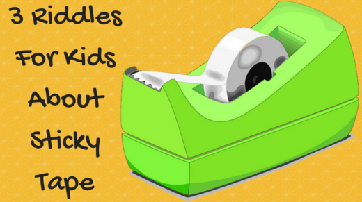 3 Sticky Tape Riddles For Kids