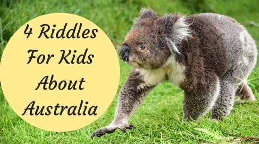 4 Australia Riddles For Kids