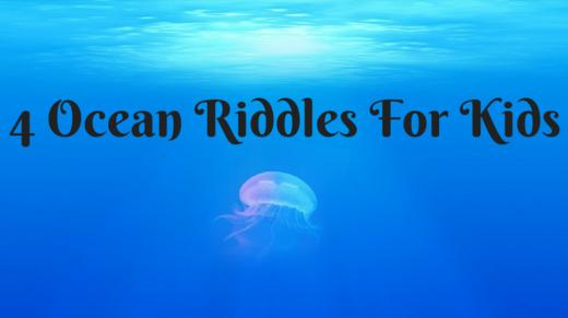 4 Ocean Riddles For Kids