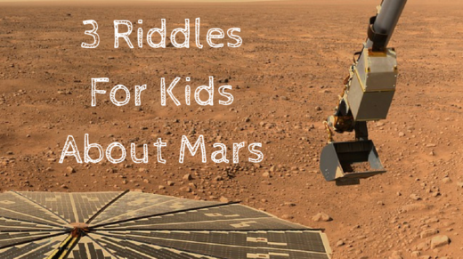Mars Riddles For Kids