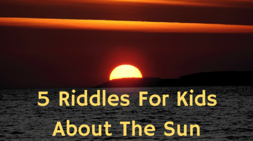 Sun Riddles For Kids