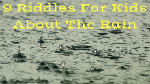 Rain Riddles For Kids