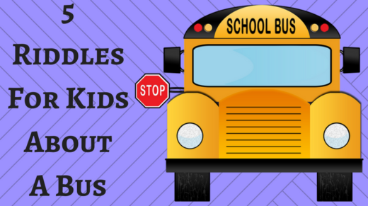 Bus Riddles For Kids