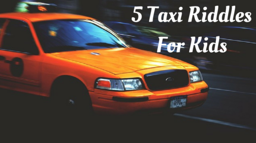 Taxi Riddles For Kids