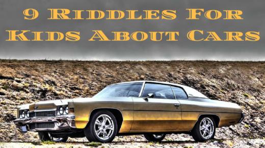 9 Car Riddles For Kids