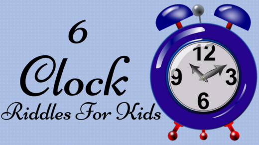 Clock Riddles For Kids