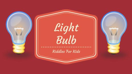 Light Bulb Riddles For Kids