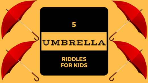 Umbrella Riddles For Kids