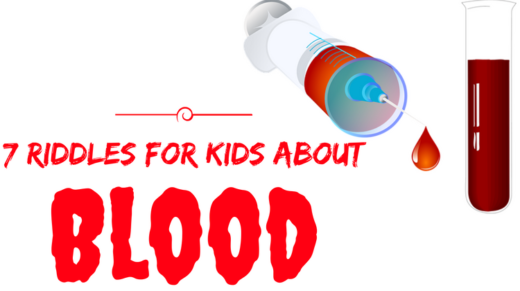 Blood Riddles For Kids
