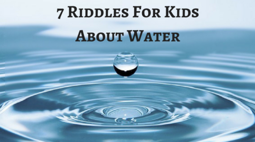 7 Water Riddles For Kids