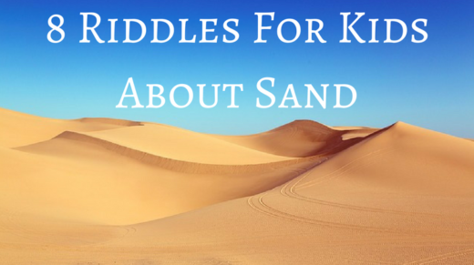 Sand Riddles For Kids