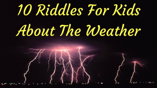 10 Weather Riddles For Kids