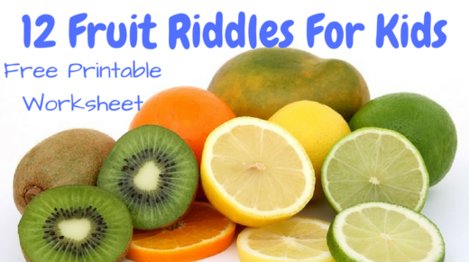 12 Fruit Riddles For Kids