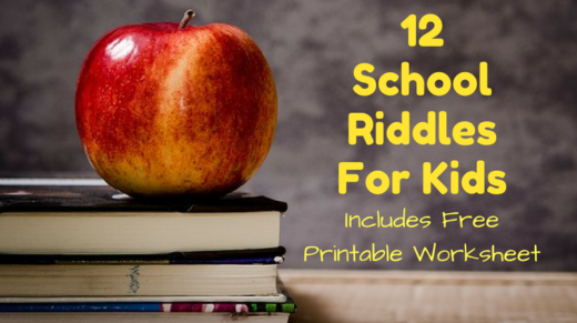 12 School Riddles For Kids