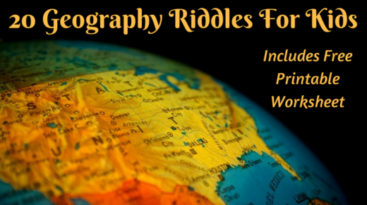 20 Geography Riddles For Kids