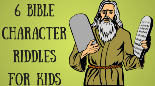 6 Bible Character Riddles For Kids