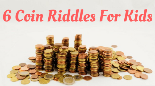 6 Coin Riddles For Kids