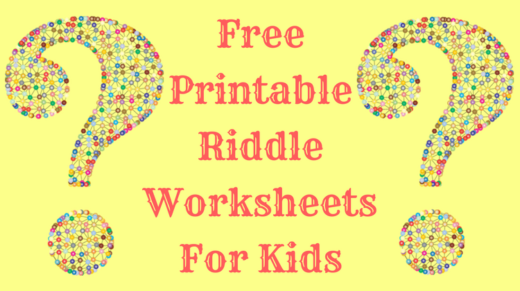 graphic regarding Riddles Printable named Cost-free Printable Riddle Worksheets