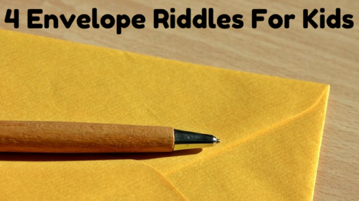 4 Envelope Riddles For Kids