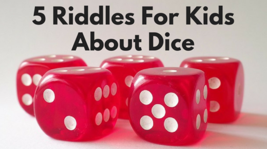 5 Dice Riddles For Kids